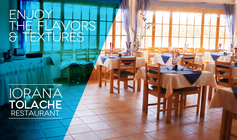 Enjoy the flavors and textures, IORANA TOLACHE RESTAURANT