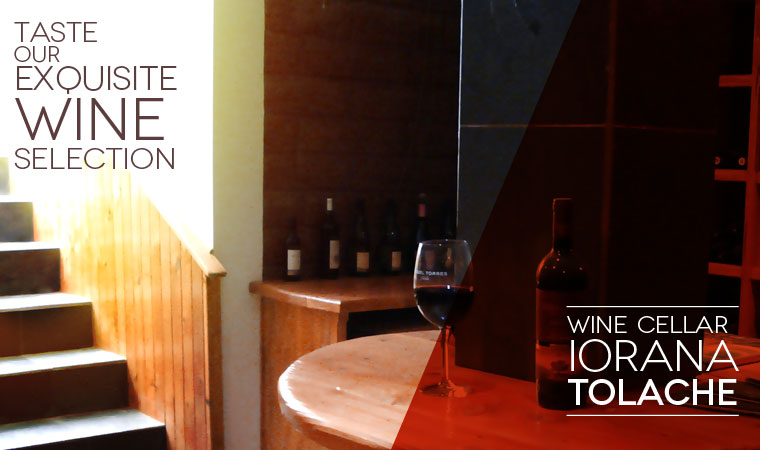 Taste our exquisite wine selection
